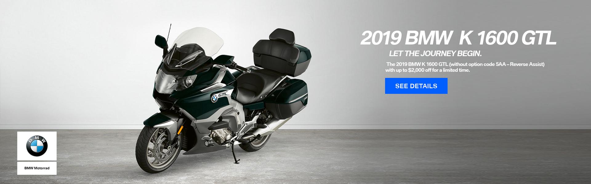 2019 BMW K 1600 GTL